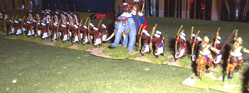The Indian Battle Line