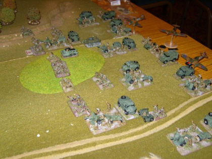 Flames of War - inter club game