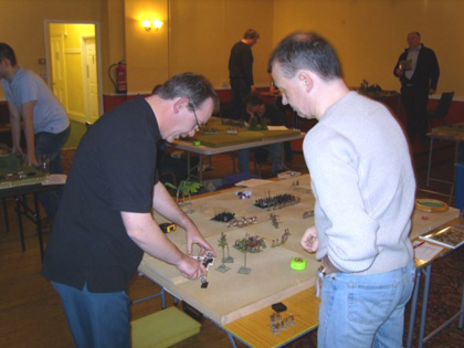 Warhammer game from IC match
