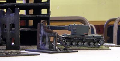 Combat debut - KV2