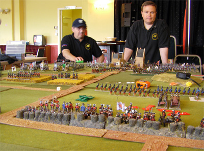 The Prussian High Command view the battlefield