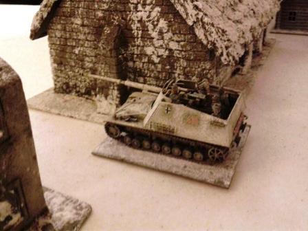 NASHORN DEFENDING AGAINST T34'S